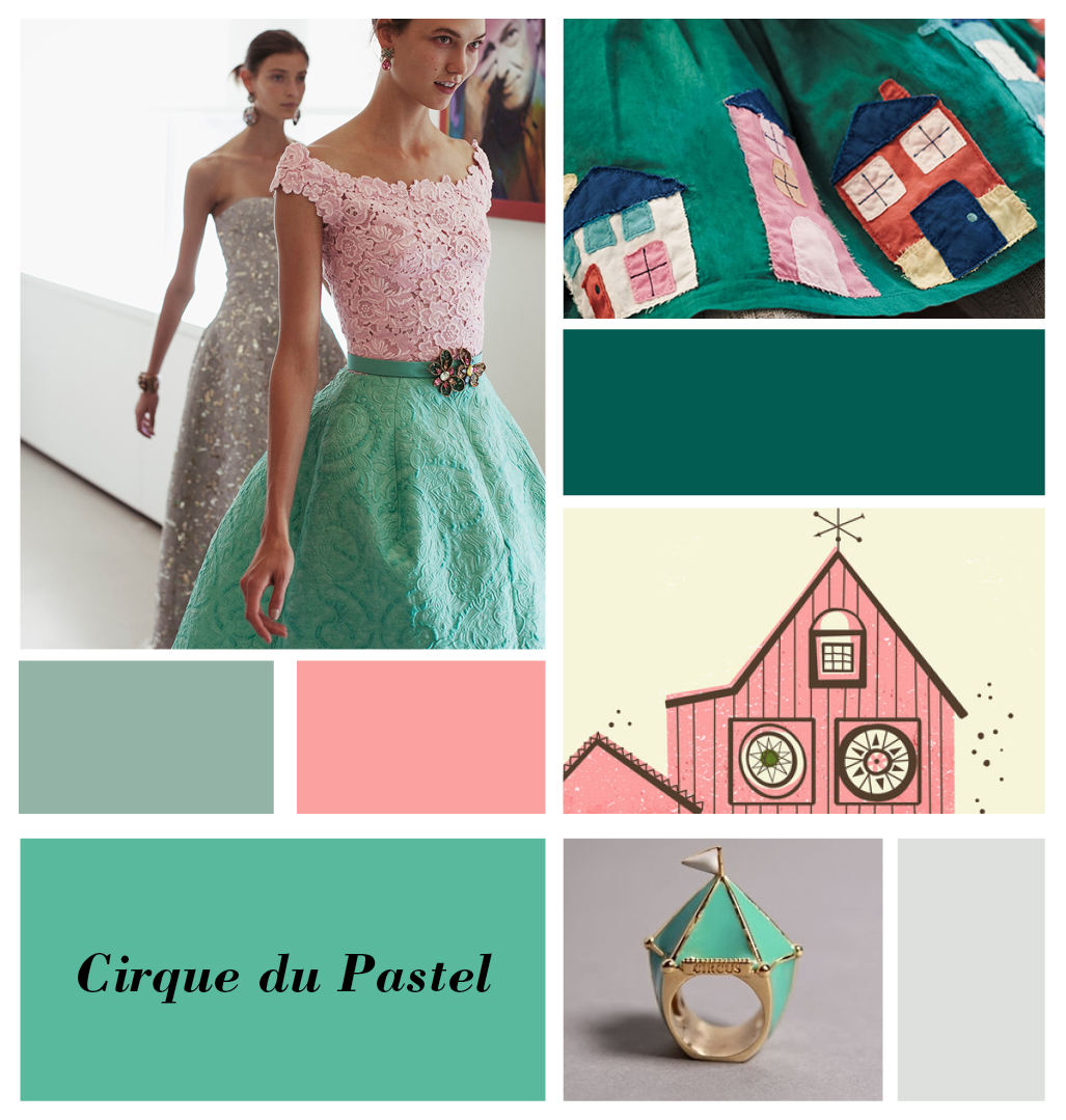 Cirque du Pastel, Blog Collage From Broesj