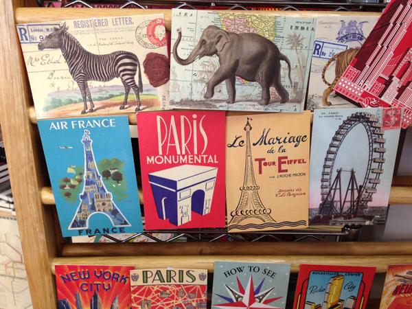 Parijs ansichtkaarten