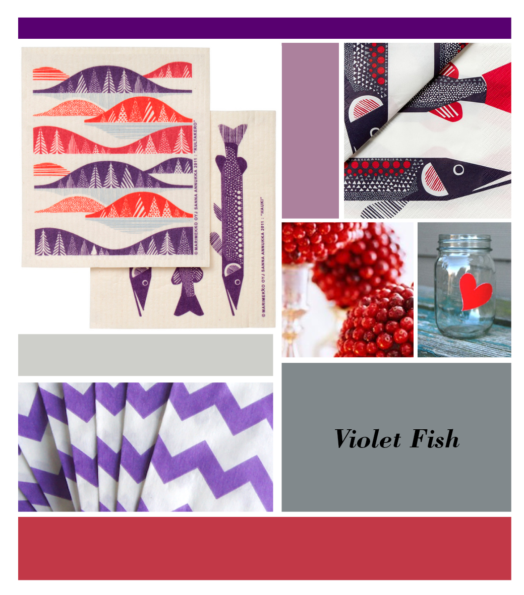 Violet-Fish-Collage