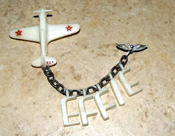 airplane effie brooch
