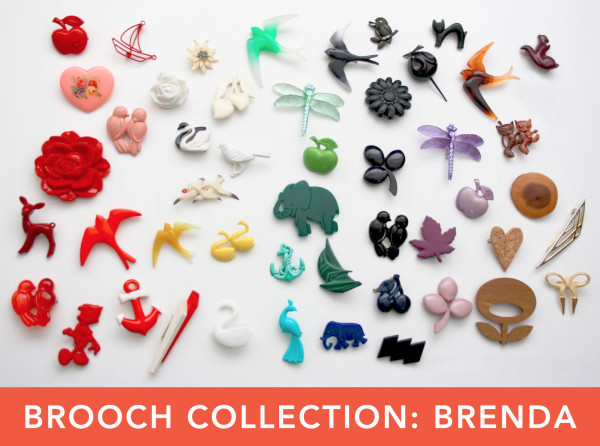 Brooch Collection Brenda / Team Teacup