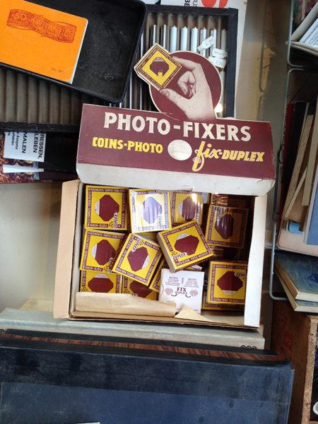 Photo fixers | Dead stock in an office supply store